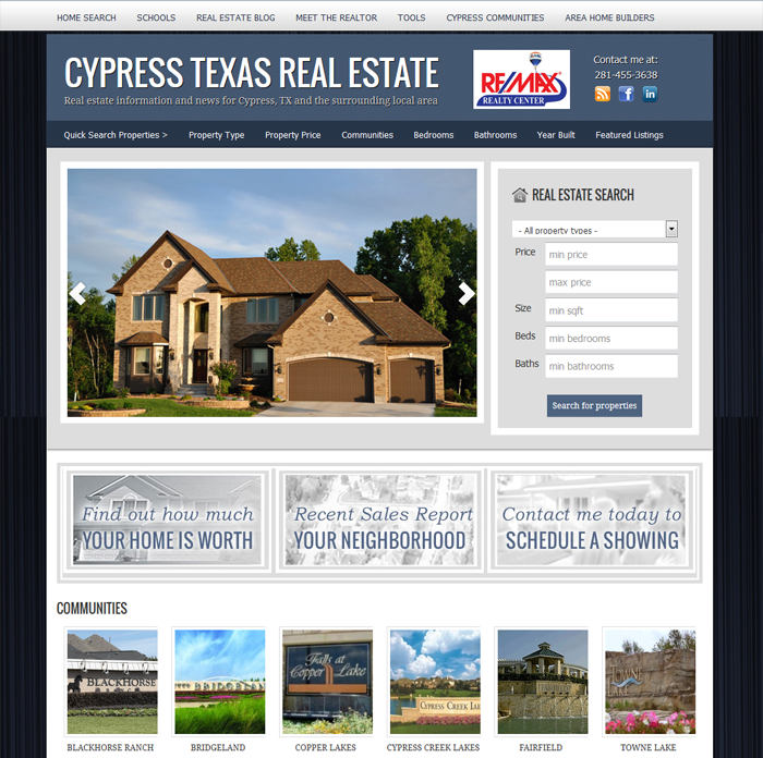 cypress texas real estate
