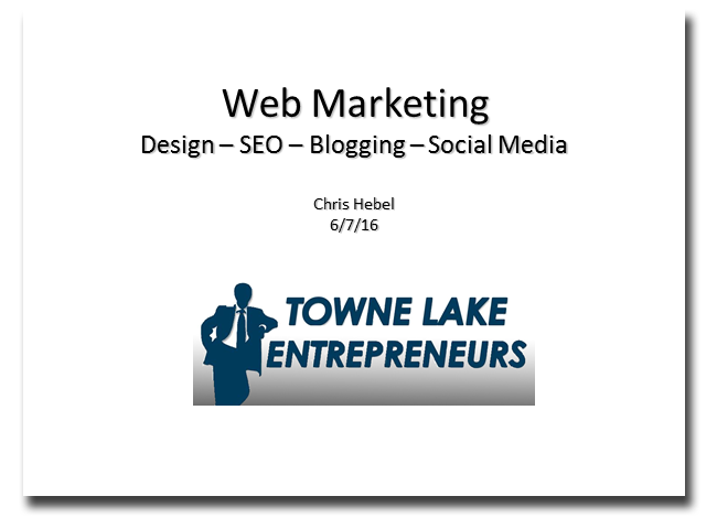 Web Marketing Presentation